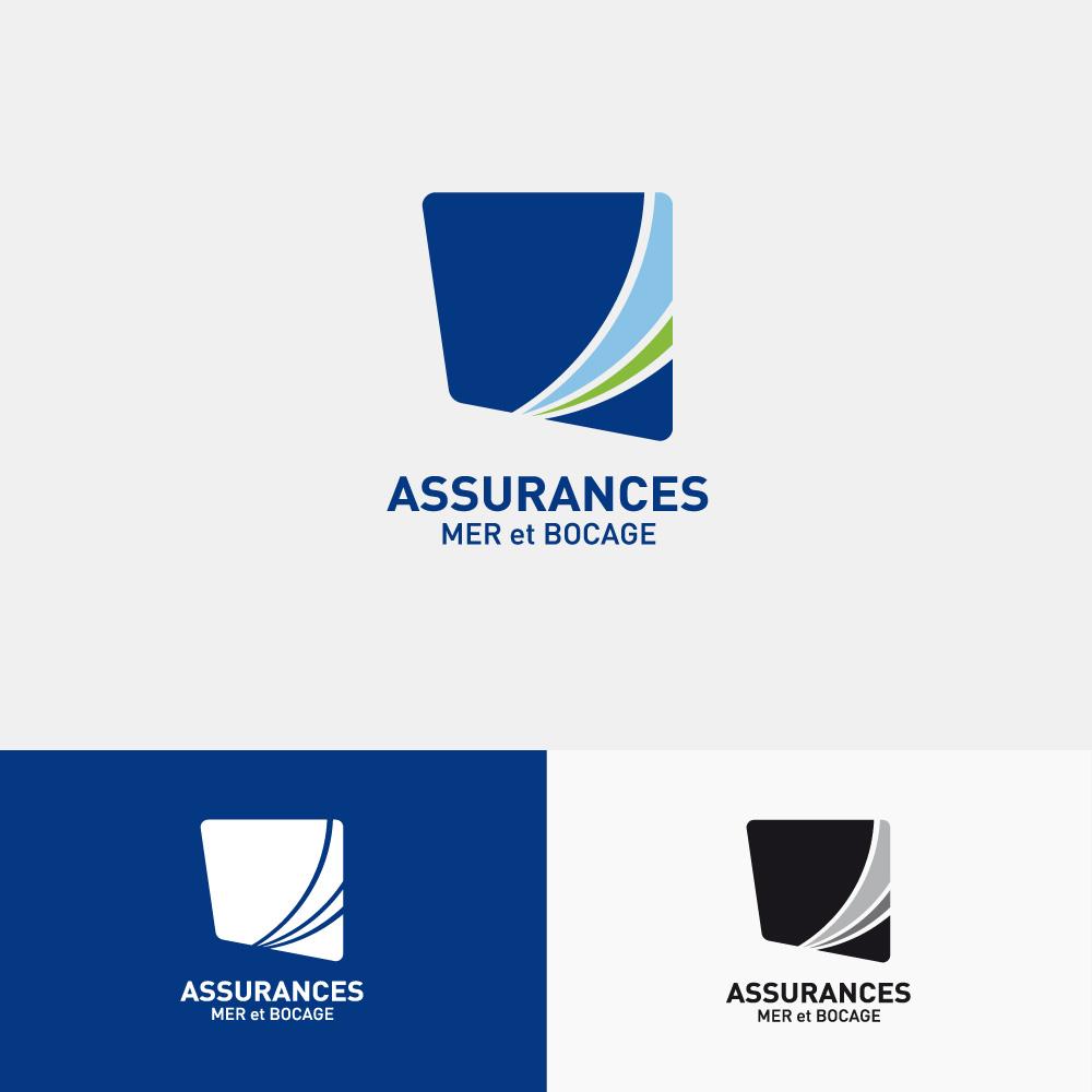 Création de logo pour assurance Coutances et Agon Coutainville