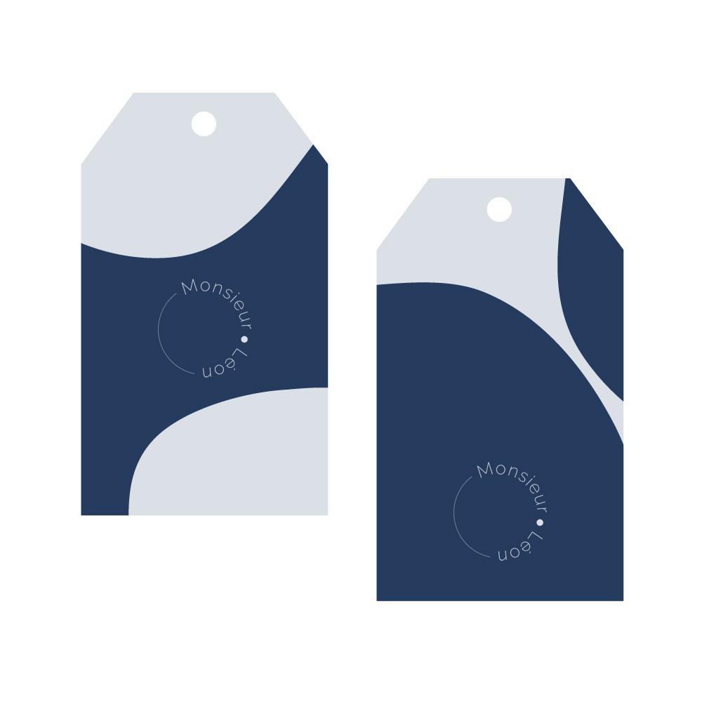Création d'étiquettes pour marque