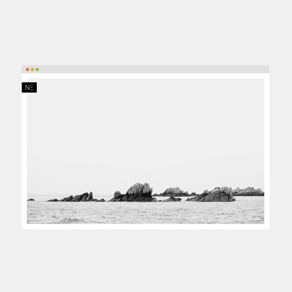 Site internet portfolio pour photographe et artiste