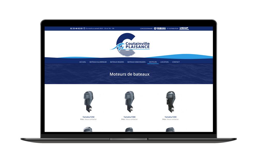Création site catalogue dans la Manche